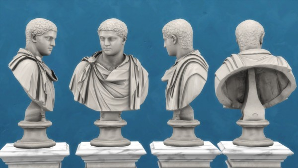 Mod The Sims: Bust Of Geta by TheJim07