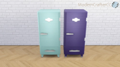 Modern Crafter: Classic Modern Fridge V3 Recolour