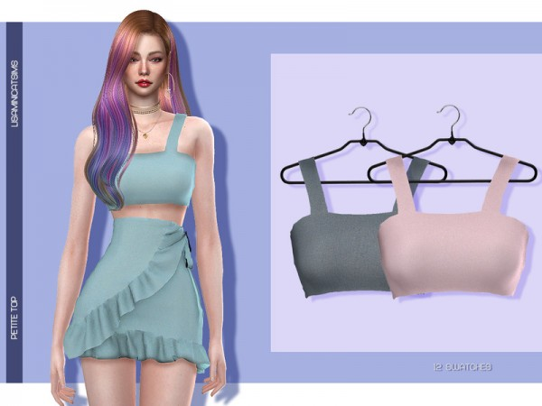The Sims Resource: Petite Top by Lisaminicatsims