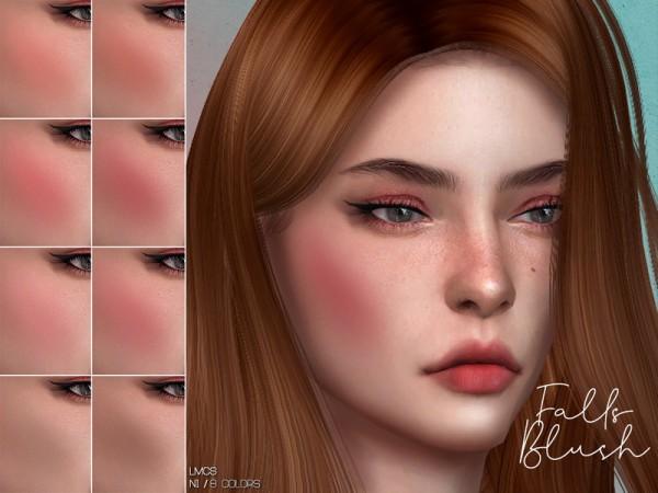 The Sims Resource: Falls Blush N1 by Lisaminicatsims