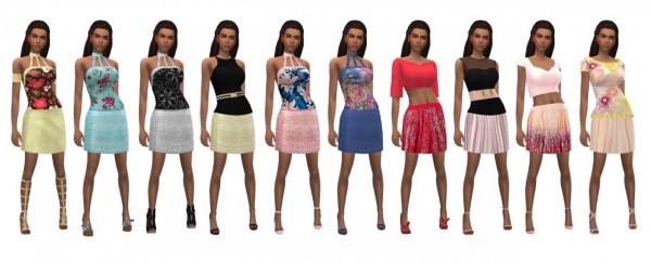 Sims 4 Sue: Party Mini Skirt