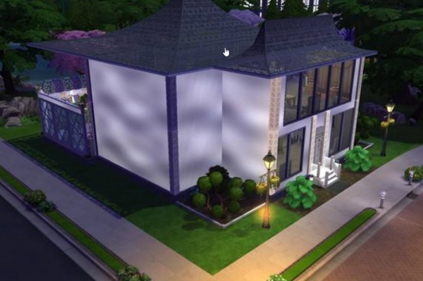 Luniversims: Celeb Sims, Tidal Tower, New Dorm by  versatility20