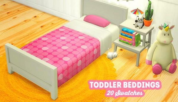 LinaCherie: Toddler beddings