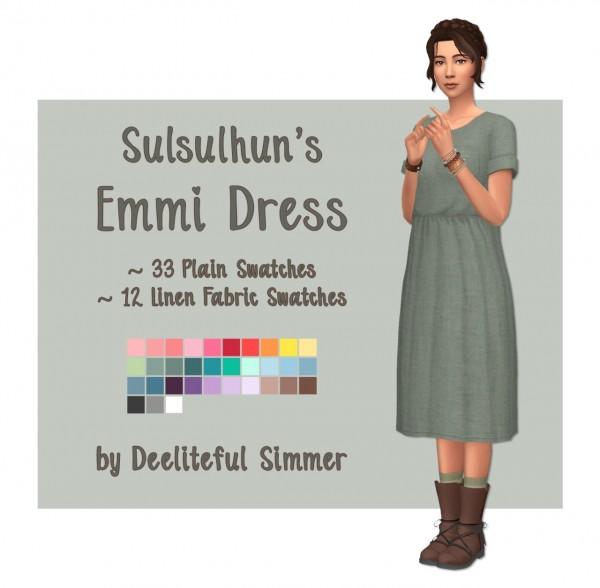 Deelitefulsimmer: Emmi Dress Recolored