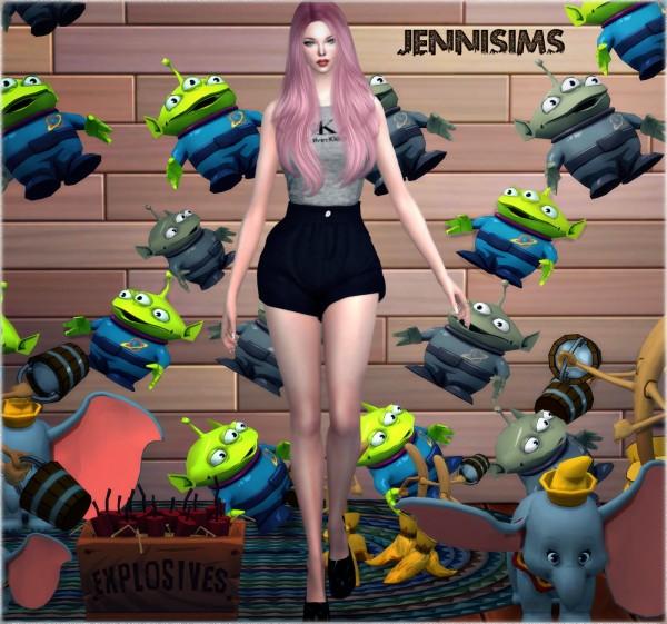 Jenni Sims: Alien Toy Story