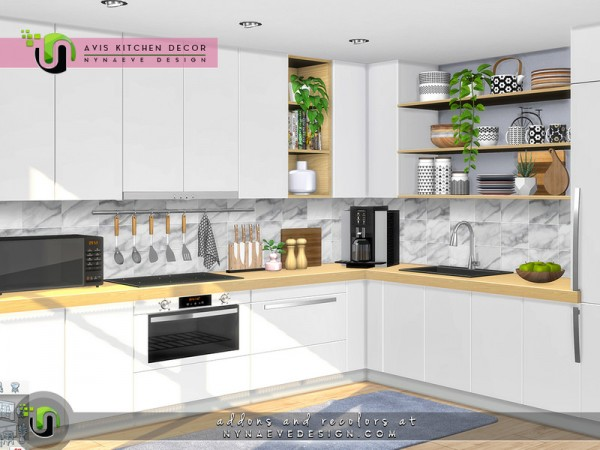 The Sims Resource: Avis Decor by NynaeveDesign