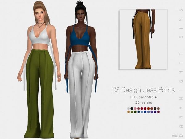 The Sims Resource: DS Design Jess Pants by DarkNighTt