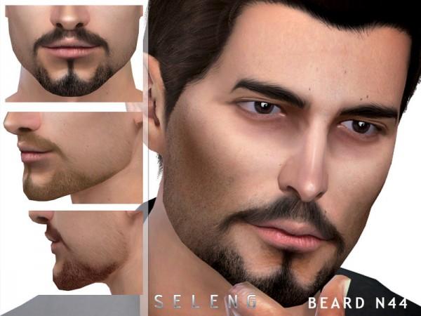 The Sims Resource: Beard N44 by Seleng