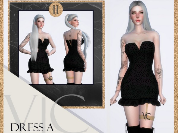 The Sims Resource: Dress A20 II by Viy Sims