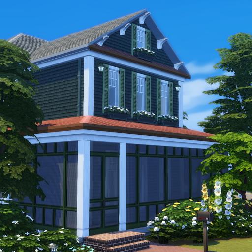 Simsational designs: Screened In Porch Series: Mesh Windows and Doors