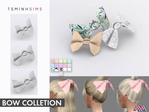 The Sims Resource: Bow Collection (Set) by TsminhSims