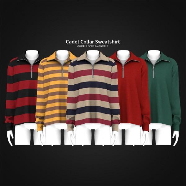 Gorilla: Cadet Collar Sweatshirt