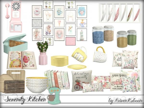 The Sims Resource: Serenity Kitchen Decorations by ArwenKaboom