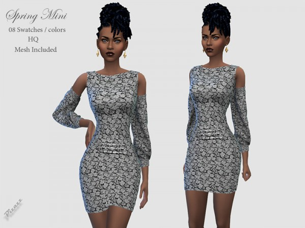 The Sims Resource: Spring Dress Mini by pizazz