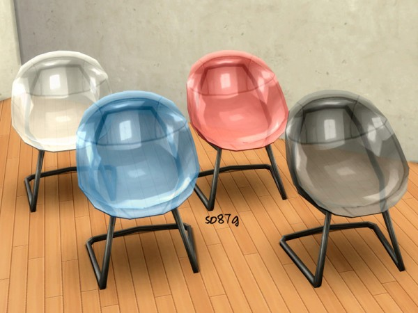 The Sims Resource: Trasparent chairs by so87g