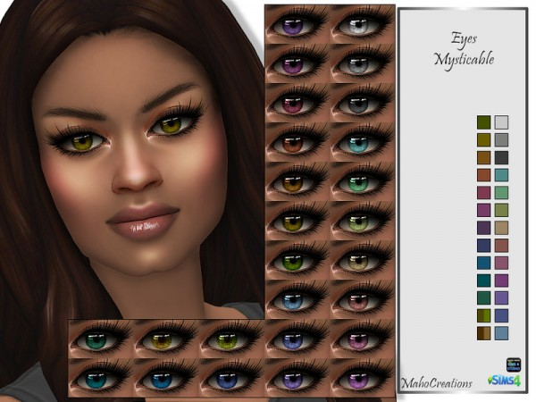 The Sims Resource: Eyes Mysticable by MahoCreations