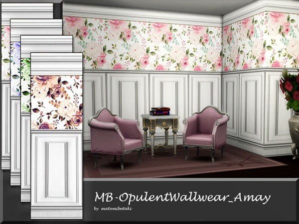 The Sims Resource: Amay Walls by matomibotaki