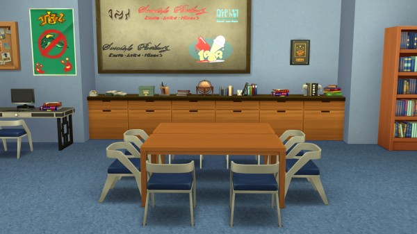 Mod The Sims: Group Study Room F   Community by fabfrnkie