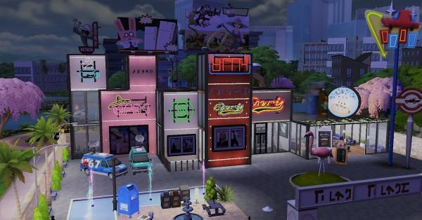 Luniversims: Modern shopping center by  Clara81