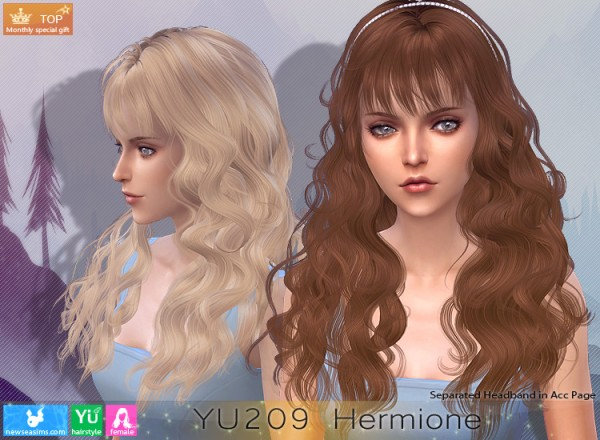 NewSea: YU209 Hermione Donation Hairstyle