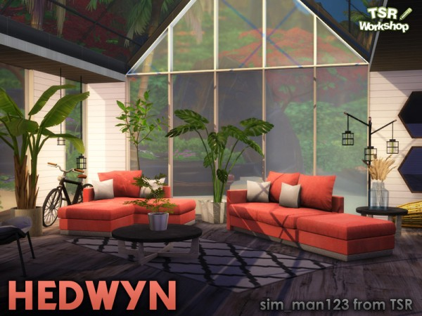 The Sims Resource: Hedwyn Living Room by sim man123