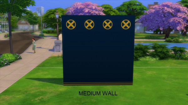 Mod The Sims: X Men themed wallpapers by iSandor