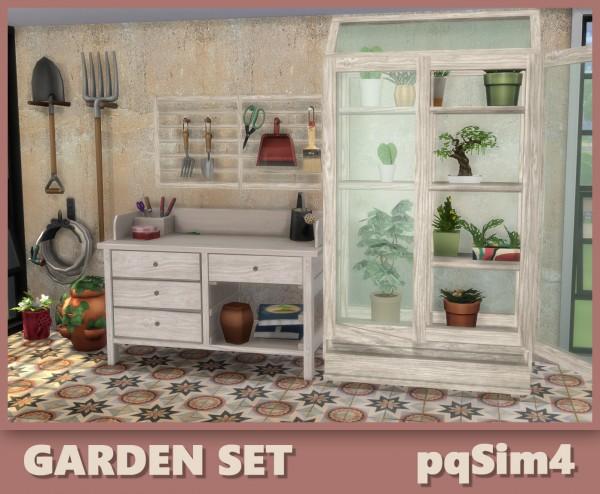 PQSims4: Garden Set