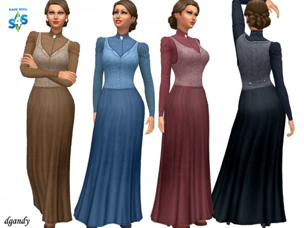 The Sims Resource: Pioneer Set by dgandy