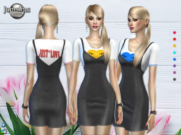 The Sims Resource: Systel dress by jomsims