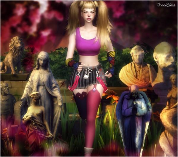 Jenni Sims: Decorative Statues 8 Items