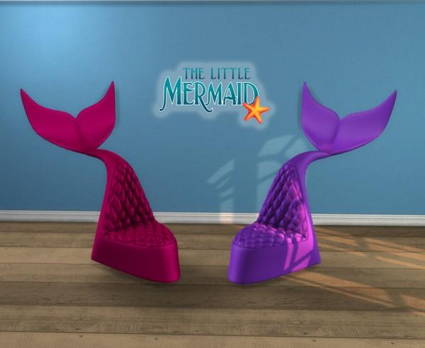 Leo 4 Sims: The Little Mermaid Chair