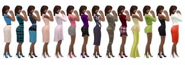 Sims 4 Sue: Beos Peeptoe Shoes