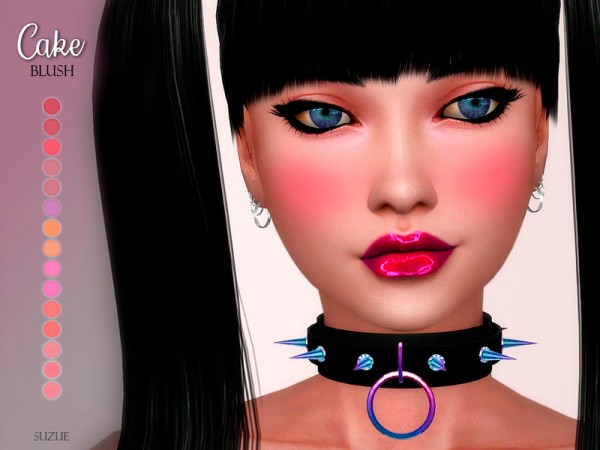 The Sims Resource: Cake Blush N7 by Suzue