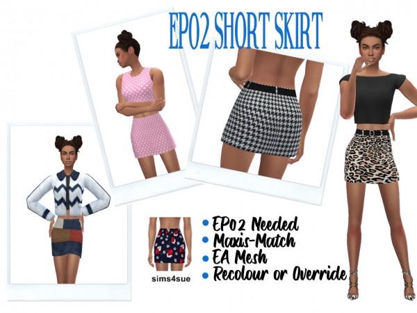 Sims 4 Sue: Short Skirt