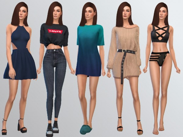 The Sims Resource: Clarrisa Hamm by Mini Simmer