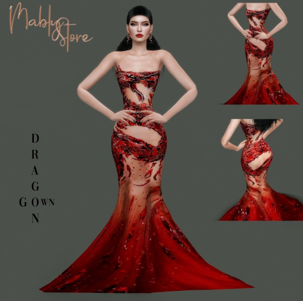 Mably Store: Dragon Gown