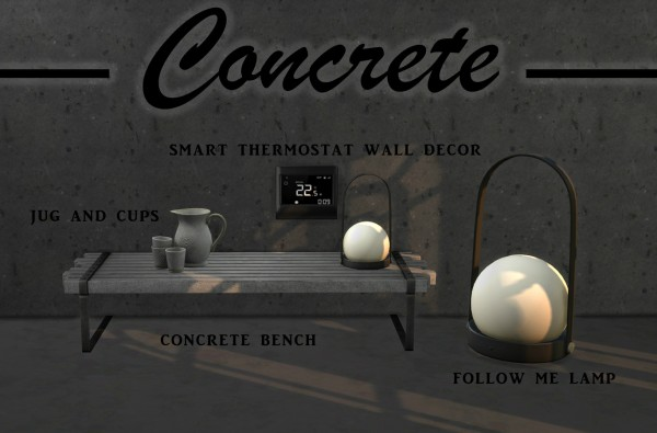 Leo 4 Sims: Concrete Collection