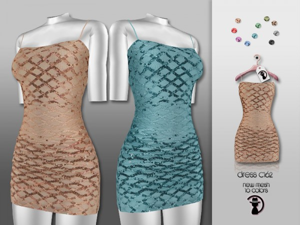 The Sims Resource: Dress C162 by turksimmer