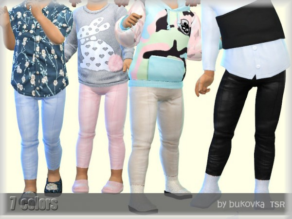 The Sims Resource: Leather Pants by bukovka