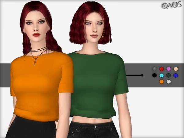 The Sims Resource: T Shirt by OranosTR