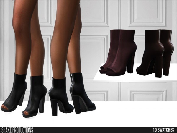 The Sims Resource: 442   Leather Boots by ShakeProductions