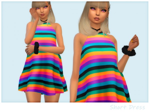 The Sims Resource: Butterfly Dress by Saruin