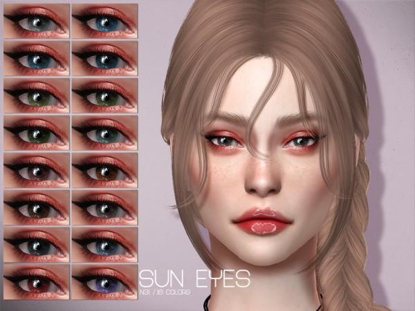 The Sims Resource: Sun Eyes N31 by Lisaminicatsims