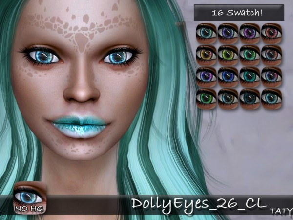The Sims Resource: Doll Eyes 26 by Taty