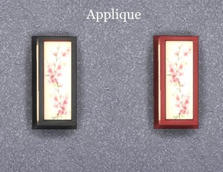 Sims Artists: Fleurs de cerisiers Kidsroom