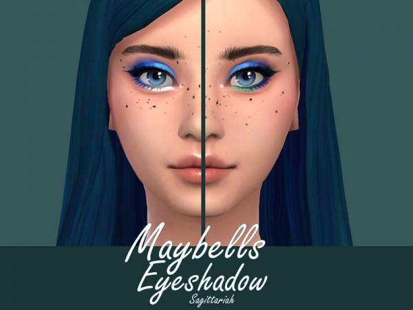 The Sims Resource: Maybells Eyeshadow by Sagittariah