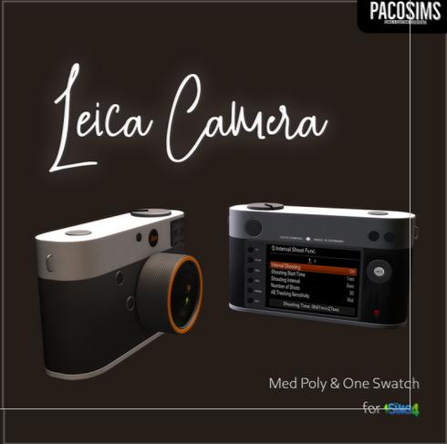 Paco Sims: Camera