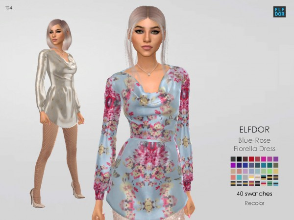 Elfdor: BlueRose Fiorella Dress RC