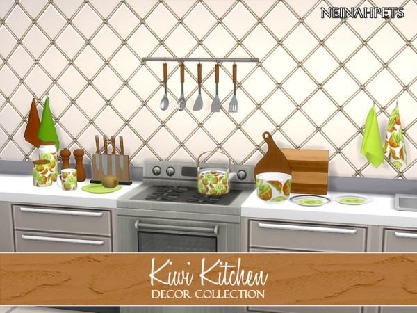 The Sims Resource: Kiwi Kitchen Decor by neinahpets