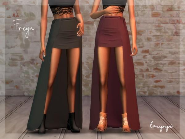 The Sims Resource: Freya Skirt by Laupipi